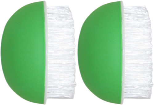 Set of 2 Black Duck Brand Vegetable Brushes! Tough Scrubber - Green - A Quality Everyday Essential!