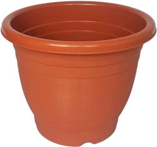 Set of 2 Round Planter/Pots! Perfect for Both Indoor and Outdoor Plants!