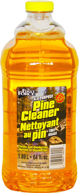 All Purpose Pine Scented Cleaner - Great for Floors, Tables and More! - Cleans and Deodorizes