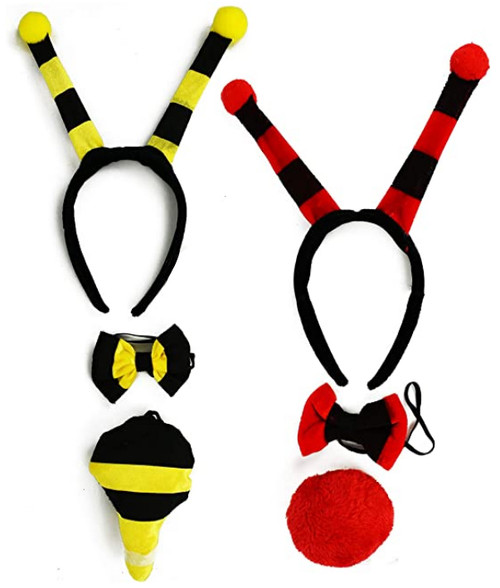 Set of Adorable Halloween Costume Sets! Featuring Bumblebee and Ladybug!