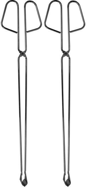 Metal BBQ Tongs - Great for Fire pits, Bonfires, Grilling, and More!
