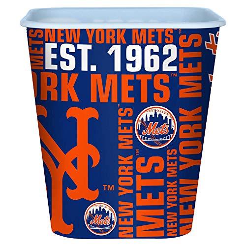 New York Mets 3 Liter Reusable Plastic Snack Bucket