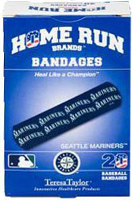 Seattle Mariners Home Run Brands Bandages!