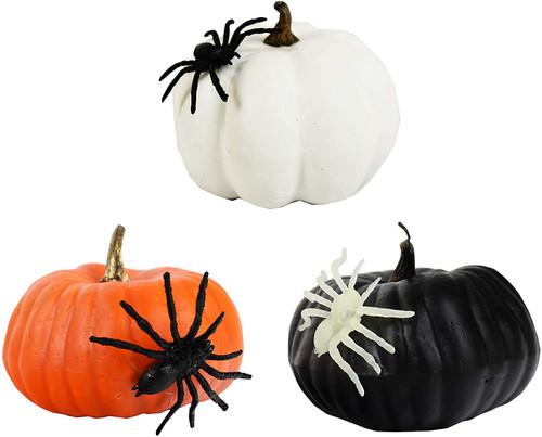 "Halloween Decorative Pumpkins! 4.25"" Pumpkins Perfect for Halloween Parties, Decor and More!"