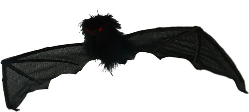 """Set of Halloween Bat Decorations - Can be Hung or Placed in Scary Spots! - Great for Scaring Trick or Treaters! Measures 19""""x5.9"""""""