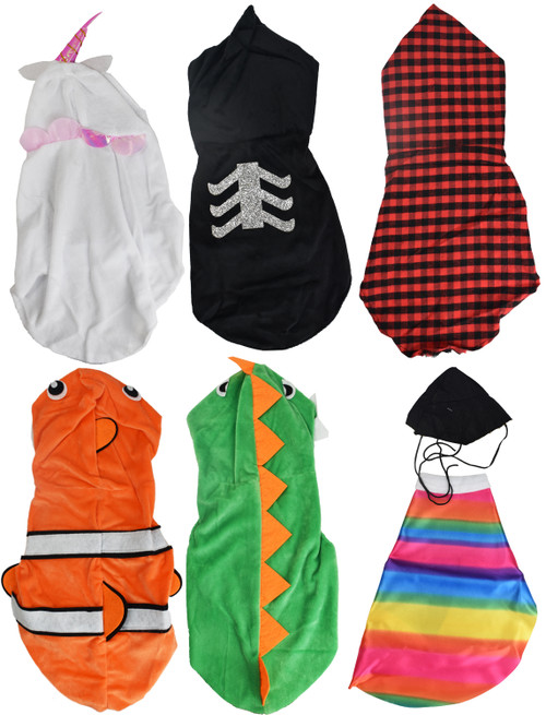 """Black Duck Brand Set Includes Fun Pet Costumes! Perfect for Smaller Breeds of Dogs and Large Cats! - Measures 21""""x8.75"""" - Features Easy Velcro Attachment!"""