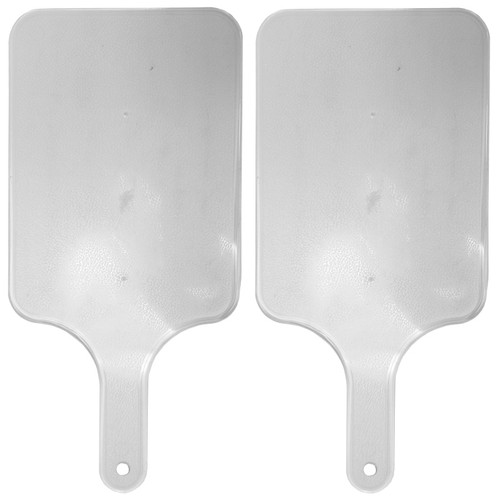 """Set of Small Cutting Boards with Handles - Features Hole to Hang - Measures 6.375""""x13.5"""" - Great for Meats and Vegetables"""