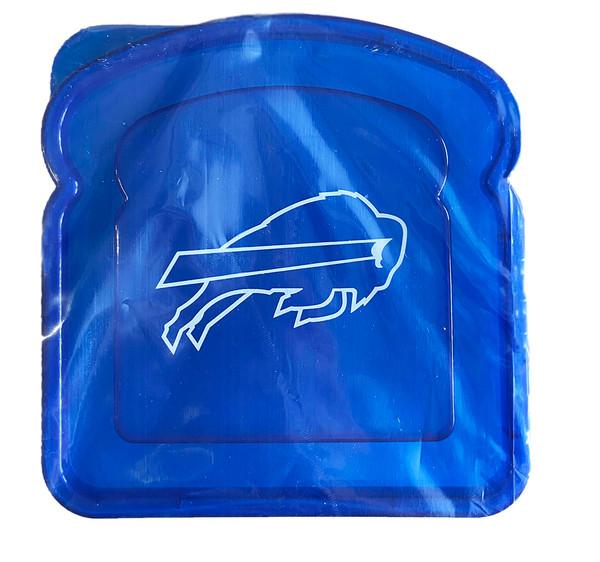 NFL Buffalo Bills Team Logo Reusable Sandwich Container