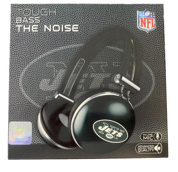 NFL New York Jets Headphones - Tough Bass