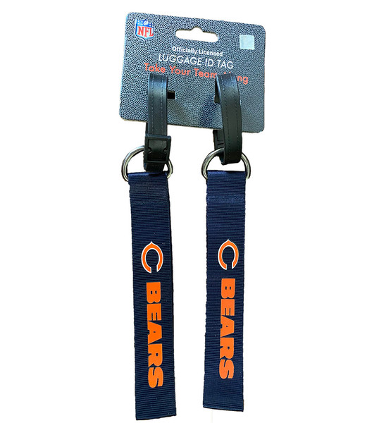 NFL Team Chicago Bears Luggage ID Tags - Take Your Team Along