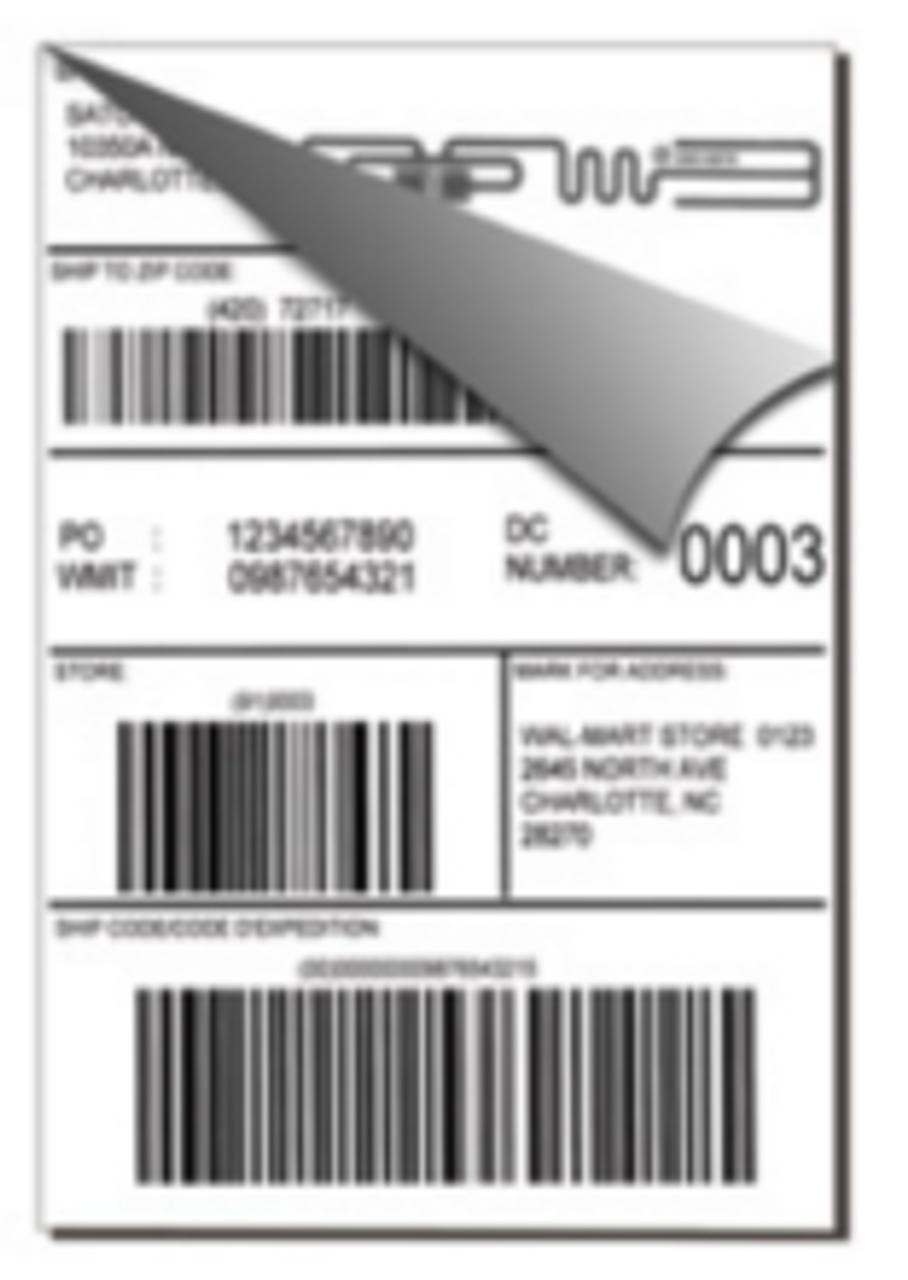 "RFID Label (4""x6"") - for the SATO CL4NX Series Thermal UHF RFID Printers"