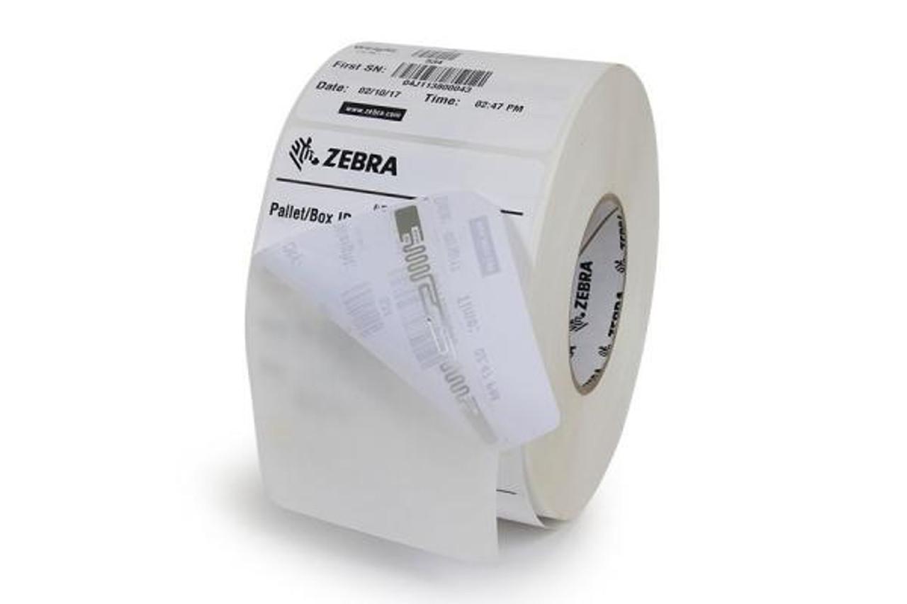 "RFID Label (4""x6"") - for the Zebra ZQ520 RFID Printer (Case of 12 Rolls - 75 Labels per Roll)"