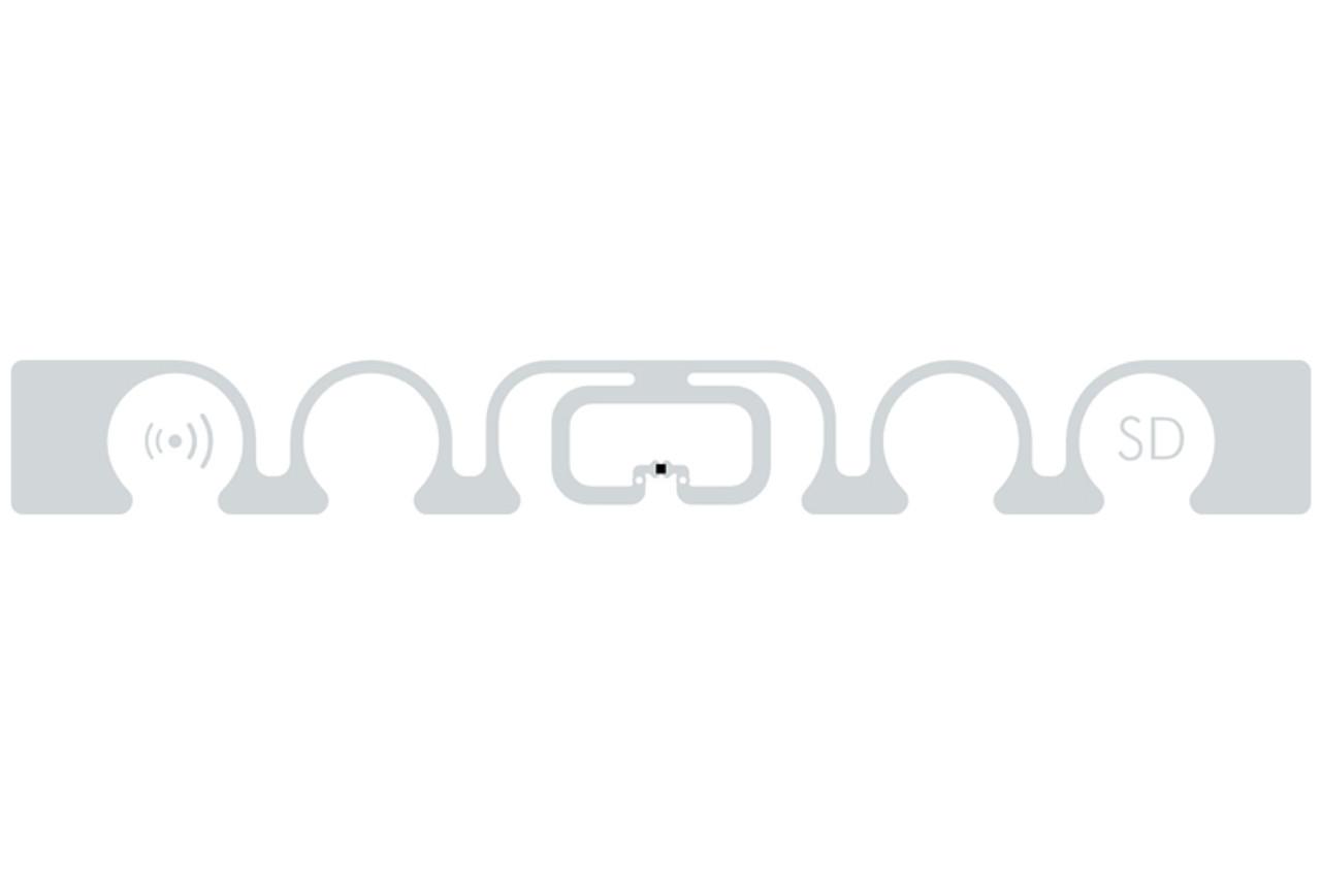 SMARTRAC ShortDipole RFID Paper Tag (Monza R6-P)