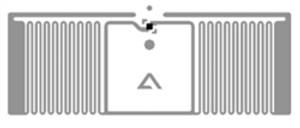 Alien Glint RFID White Wet Inlay (ALN-9715, Higgs-4)| ALN-9715-WRW