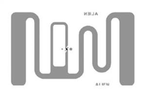 Alien GT RFID Inlay (ALN-9728, Higgs-4   ALN-9728-WRW
