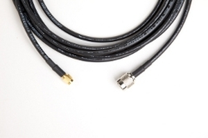 Vulcan RFID™ 35 ft Antenna Cable (LMR-400, RP-TNC Male to SMA Male)   400-RP-TNC-M-SMA-M-35