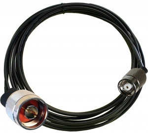 Zebra 240 in Antenna Cable (LMR-240, RP-TNC Male to N-Type Male)   CBLRD-1B4002400R