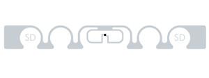 SMARTRAC ShortDipole RFID Wet Inlay (Monza 4D)   3001974