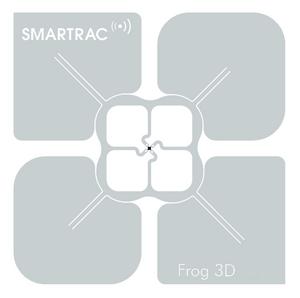 SMARTRAC Frog 3D RFID Paper Face Tag 76mm (Monza 4D) | 3002348-q4000