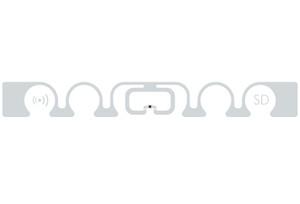 SMARTRAC ShortDipole RFID Wet Inlay (Monza R6) | 3004272