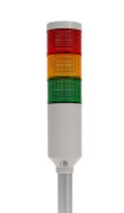 Tri-Color 12V Tower Stack Light | PREF-301-RYG-KIT