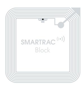 Smartrac Block Lite NFC/HF RFID Paper Tag (NXP ICODE SLIX2) | 3002987