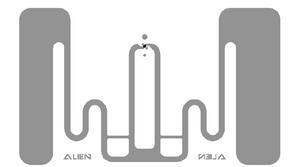 Alien GT RFID White Wet Inlay (ALN-9828, Higgs-EC)  | ALN-9828-WRW