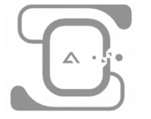 Alien Bio RFID White Wet Inlay (ALN-9714, Higgs-4)   ALN-9714-WRW