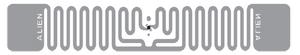 Alien Squiglette RFID Clear Wet Inlay (ALN-9830, Higgs-EC) | ALN-9830-WRC