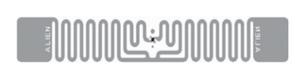 Alien Squiglette RFID Clear Wet Inlay (ALN-9730, Higgs-4)   ALN-9730-WRC
