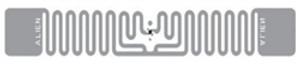 Alien Squiglette RFID Clear Wet Inlay (ALN-9630, Higgs-3)   ALN-9630-FWRC