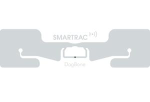 SMARTRAC DogBone RFID White Wet Inlay (Monza R6) - Adhesive+ | 3005203