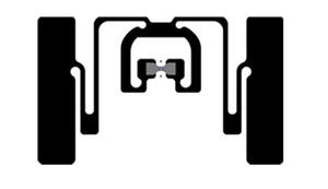Avery Dennison AD-384r6 UHF RFID Wet Inlay (Monza R6)   RF600873