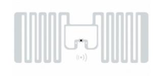 SMARTRAC MiniWeb RFID Wet Inlay (Monza R6) | 3004858