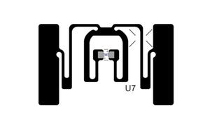 Avery Dennison AD-383u7 UHF RFID Paper Label (NXP UCODE 7) - 1,000 Labels [Clearance] | RF100350_1000