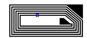 Avery Dennison AD-750 NFC Wet Inlay (NXP NTAG213) - 1,000 Tags [Clearance] | RF700073_1000
