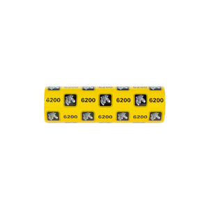 Zebra 6200 Standard Desktop Resin Ribbon (Case of 48)   06200GS11007