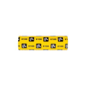 Zebra 6100 Standard Desktop Wax-Resin Ribbon (Case of 48)   06100GS11007