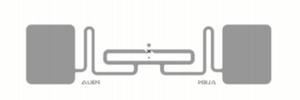 Alien Short RFID White Wet Inlay (ALN-9862, Higgs-EC) | ALN-9862-WRW