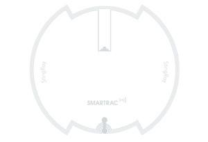Smartrac StingRay NFC/HF RFID Wet Inlay (NXP ICODE SLIX2) | 3006211