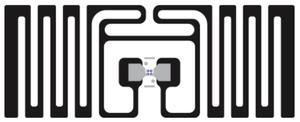Avery Dennison AD-320u7 UHF RFID Paper Label - 1,000 Labels [Clearance] | RF100307_1000