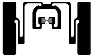 Avery Dennison AD-384r6-P UHF RFID Wet Inlay (Monza R6-P)   RF600929
