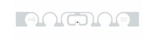 SMARTRAC ShortDipole RFID Dry Inlay (Monza R6-P) - 20,000 Inlays | 3005076-q20000