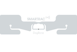 SMARTRAC DogBone RFID Wet Inlay (Monza R6-P) - Adhesive+   3006616