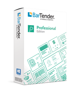 BarTender Software - 2021 Professional Edition (Printer License) | BTP-PRT