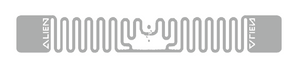 Alien Squiglette RFID White Wet Inlay (ALN-9930, Higgs-9) | ALN-9930-WRW
