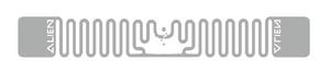Alien Squiglette RFID Clear Wet Inlay (ALN-9930, Higgs-9) | ALN-9930-WRC