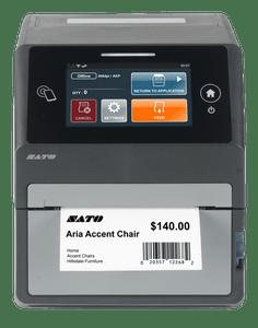 SATO CT4-LX Series Thermal UHF RFID Desktop Printer | WWCT03241