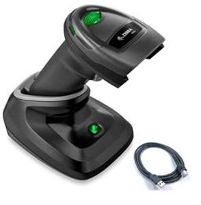 Zebra DS2278-SR Cordless Handheld Scanner with Presentation Cradle USB Kit | DS2278-SR7U2100PRW