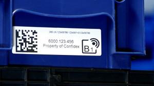 Confidex Carrier KLT RFID Label | 3003340